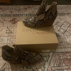 NWT Coconuts By Matisse Trader Bootie